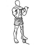 Bicepsový zdvih s využitím spodnej kladky