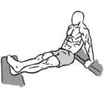Tricepsové kľuky na lavičke