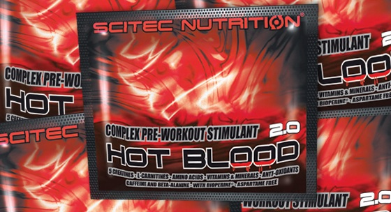 Recenzia: Hot Blood 2.0 od Scitec Nutrition