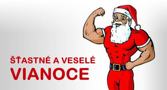 Šťastné a veselé Vianoce od SlovakFitness.sk!