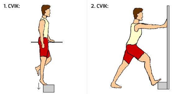 dva cviky pre silnejšie chodidlá